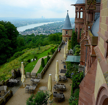 Schloss Drachenburg in Königswinter on the Rhine River. Photo via Flickr:Gian Cornachini