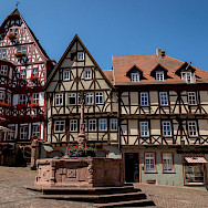 Half-timbered houses in Miltenberg, Germany. Flickr:Carsten Frenzl