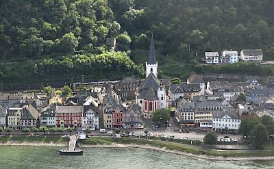 St Goar on the Rhine River, Germany. Flickr:m.prinke
