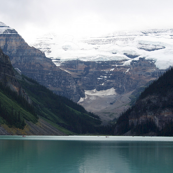 The famous Lake Louise, gorgeous as ever! Jasper, Canada.