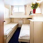 Twin Cabin, lower deck