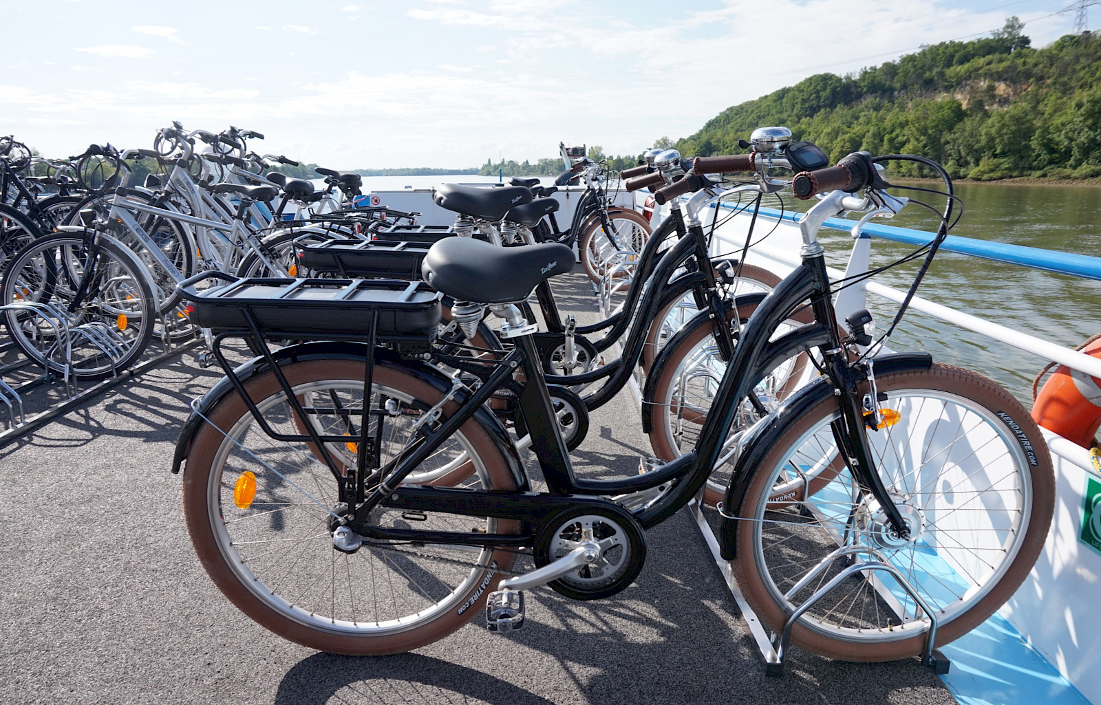 Storing Bikes On Boats: Barge/Boat For Bike Tours