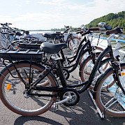 Bike storage on sundeck - Bordeaux | Bike & Boat Tours