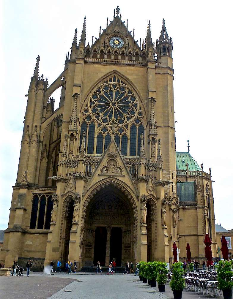 Cathedral Saint-Etienne in Metz, France