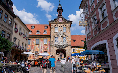 <i>Altes Rathaus</i> in Bamberg, Germany. Flickr:Wei-Tewong