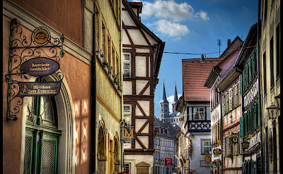 Sightseeing in Bamberg, Germany. Flickr:Magnetismus