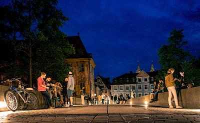 Untere Brucke in Bamberg, Germany. Flickr:Matthias Ripp