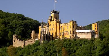 Schloss Stolzenfels, Koblenz, Germany. Photo via Flickr:Ralf Schulze