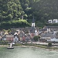 St. Goar along the Rhine River, Germany. Flickr:m.prinke