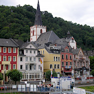 St. Goar along the Rhine River, Germany. Flickr:Nigel Swales