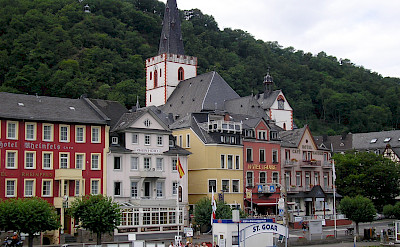 St. Goar along the Rhine River, Germany. Flickr:Nigel Swales
