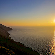 Sicilian sunset Stromboli