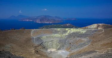 Island of Vulcano, A view of the creator