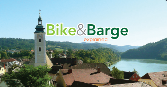 What is a Bike & Barge Tour?
