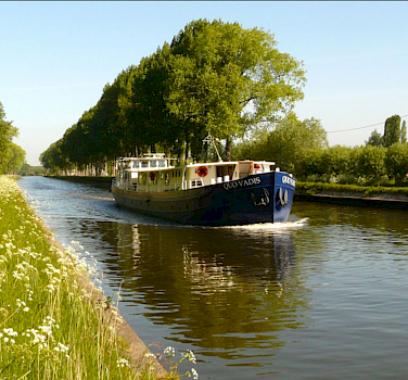 The beautiful MS Quo Vadis is comfortably furnished and so cozy you will feel right at home.