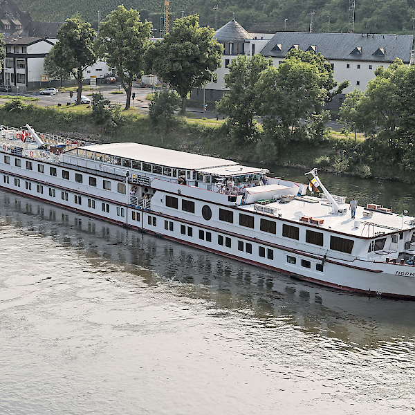 MS Normandie, one of our largest Comfort Plus Class Boats