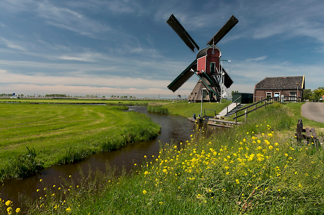 The Netherlands provide a perfect backdrop for a bike and barge tour.