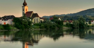 Melk on the Danube River near the Wachau Valley. Photo via Flickr:b k