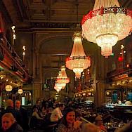 Bar scene in Stockholm, Sweden. Photo via Flickr:chas B
