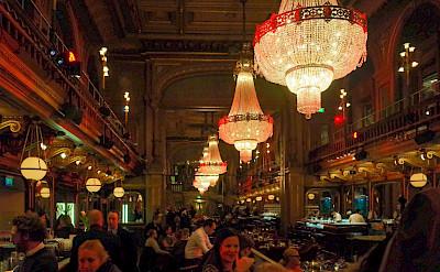 Bar scene in Stockholm, Sweden. Flickr:chas B