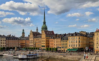 Summertime in Stockholm, Sweden. Flickr:Pedro Szekely