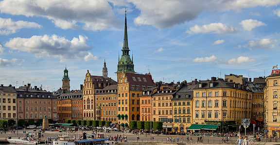 Summertime in Stockholm, Sweden. Flickr:Pedro Szekely