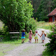 Girls in Gnesta, Sweden. Photo via Flickr:[kajsa]