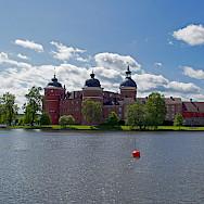 Gripsholm Slott or Castle in Mariefred, Sweden. Photo via Flickr:Allie_Caulfield