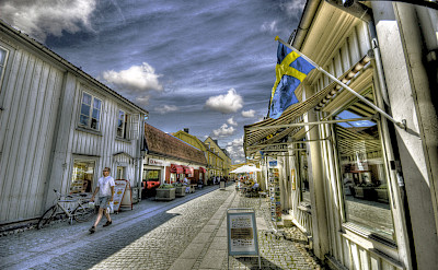 Shopping in Mariefred, Sweden. Flickr:Bs0u10e0