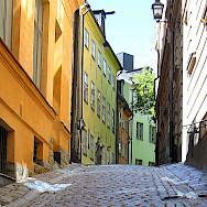 Old Town (Gamla Stan) in Stockholm, Sweden. Photo via Flickr:Olof Senestam