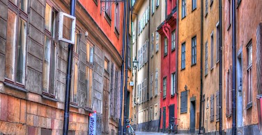 Old Town, Stockholm, Sweden. Photo via Flickr:Mike Norton