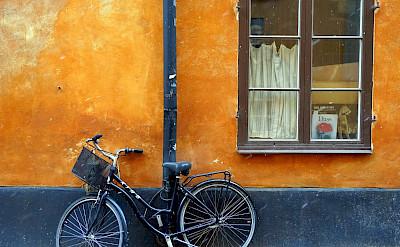 Bike break in Stockholm, Sweden. Flickr:Matt Kieffer