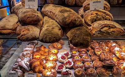 Bread and cakes in Stockholm, Sweden. Flickr:chas B