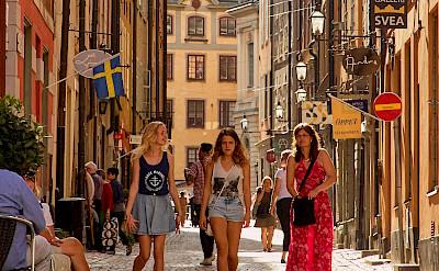 Bike break in Stockholm, Sweden. Flickr:Pedro Szekely