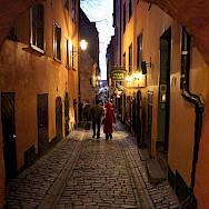 Evening stroll in Stockholm, Sweden. Photo via Flickr:Bengt Nyman