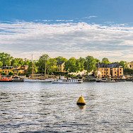 Boats in Skeppsholmen, Stockholm, Sweden. Photo via Flickr:Tommie Hansen
