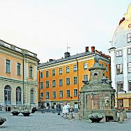 Storatorget street in Stockholm, Sweden. Photo via Flickr:Dennis Jarvis
