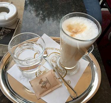 cappuccino in Vienna