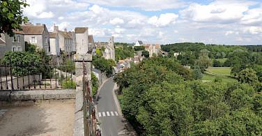 Chateau Landon, Seine et Marne, France. Photo via Flickr:David Fleg
