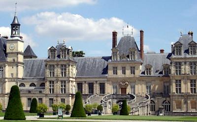 Château de Fontainebleau in Fontainebleau, Seine-et-Marne, France. Creative Commons:Carolus