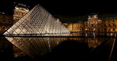 Le Louvre Museum, Paris, France. Photo via Flickr:Photophilde