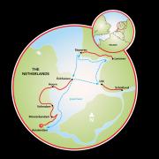 Bike & Sail the IJsselmeer Map
