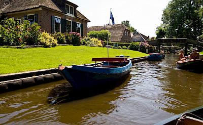 Giethoorn, Overijssel, the Netherlands. Flickr:Piotri Lowiecki