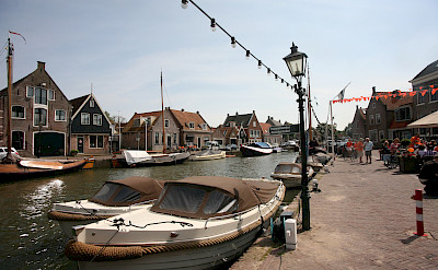 Monnickendam on the IJsselmeer in Holland. Flickr:bert knottenbeld