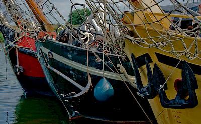 Boats in Stavoren on the IJsselmeer in the Netherlands. Flickr:Marja van Bochove