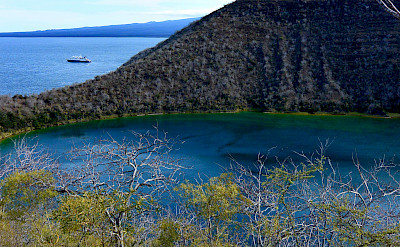 Darwin's Lake, Isabela Island, Galapagos Islands, Ecuador. Flickr:John Solaro