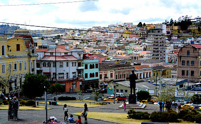 Quito is the world's highest capital city. Ecuador. Flickr:John Solaro
