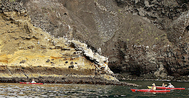 Kayaking on Isabela Island, Galapagos Islands, Ecuador. Photo via Flickr:Les Williams