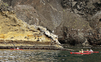 Kayaking on Isabela Island, Galapagos Islands, Ecuador. Flickr:Les Williams