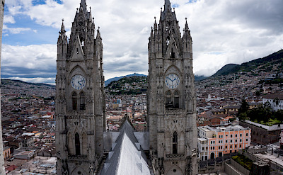 Basilica del Voto Nacional in Quito, the capital of Ecuador. Flickr:jibe7